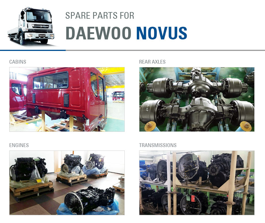 Spare parts for DAEWOO NOVUS