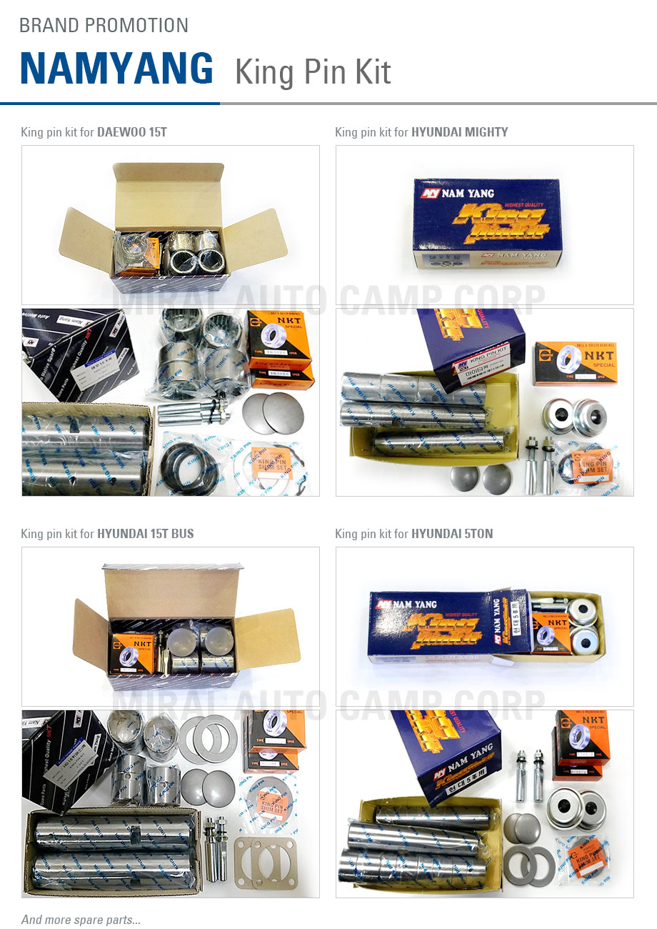 Miral Auto Camp - Namyang promotion - King Pin Kit