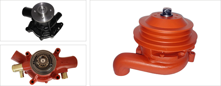 Water Pumps for commercial vehicels