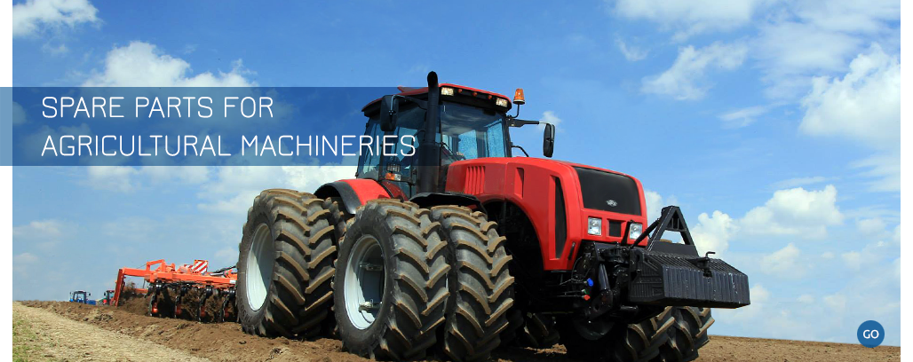 Spare parts for agricultural Machineries