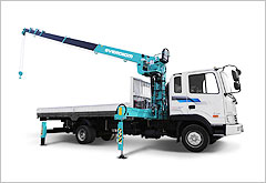 Everdigm Telescopic Cranes - Lorry Crane