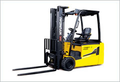 Hyundai Three Wheel Electric Forklifts