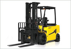 Hyundai Four Wheel Electric Forklifts