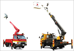 Junjin Insulated Aerial Work Platform Trucks